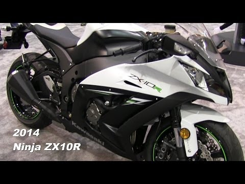 2014 Kawasaki Ninja ZX10R Walk Around - WHITE + Sunset at the Park