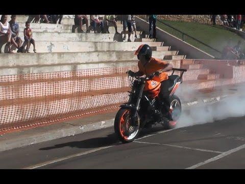 2º Encontro dos Motociclistas em Orlândia - Manobras com a Equipe Impactto Moto Show 2014