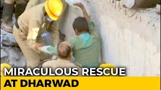 Karnataka Man Pulled Out After 62 Hours Under Rubble. See Miracle Rescue - NDTV