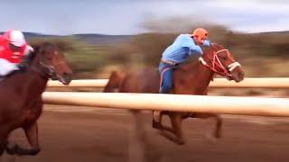 Carreras de caballos en Felipe �ngeles (Fresnillo, Zacatecas)