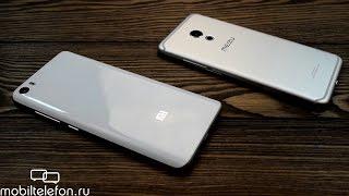 Распаковка Xiaomi Mi5 и сравнение с Meizu Pro 6 (unboxing)