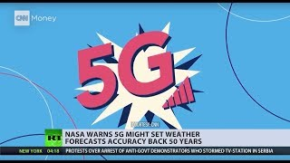 NASA is concerned over 5G potentially setting back weather forecast accuracy back 50 years - RUSSIATODAY