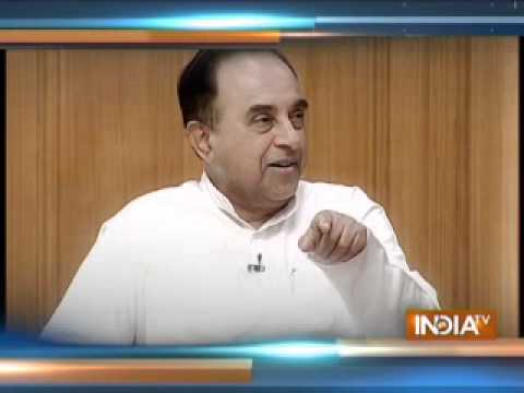 Aap Ki Adalat: Subramanian Swamy on his charge against Sonia, Rahul Gandhi