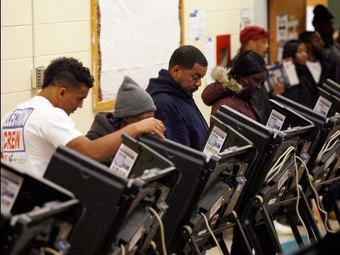 A Decline In White Voters And Record Turnout Among Blacks Helped Re-Elect President Obama