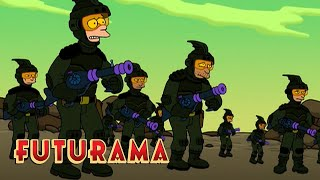 FUTURAMA | Season 3, Episode 2: The War Against Spheron I | SYFY - SYFY