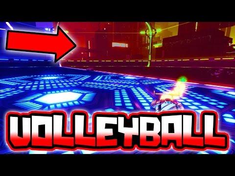ROCKET LEAGUE CUSTOM VOLLEYBALL GAMEMODE!!
