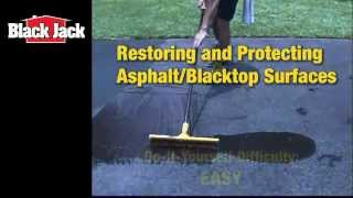 How To Seal Blacktop And Asphalt Driveways   YouTube