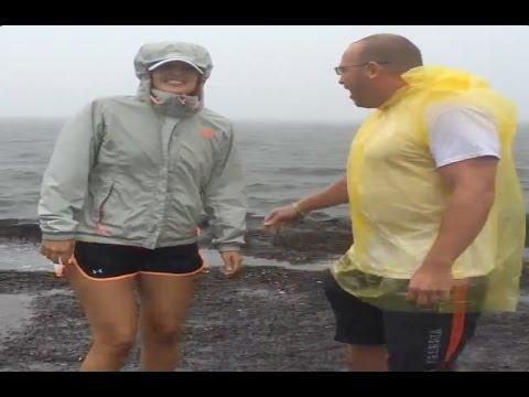 Hurricane Iselle landfall | Hits Hilo Hawaii Storms 8/8/2014!!!
