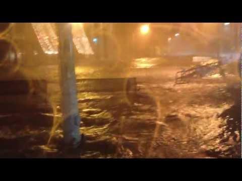 Hoboken during Hurricane Sandy P3