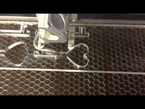Custom Skelton key using laser etch machine