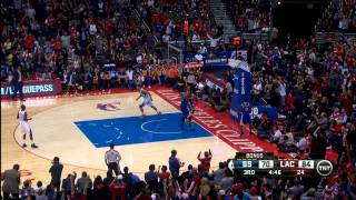 Chris Paul & Blake Griffin's Big Back To Back Alley Oops