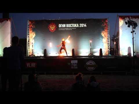 Mel メル  Fire Poi Ogni Vostoka 2014 Gala Show