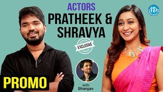 Vanavillu Movie Actors Pratheek & Shravya Exclusive Interview - Promo || Talking Movies With iDream - IDREAMMOVIES