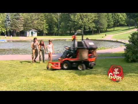 JFL Hidden Camera Pranks &amp; Gags: Mower Man VS Extinct Plant