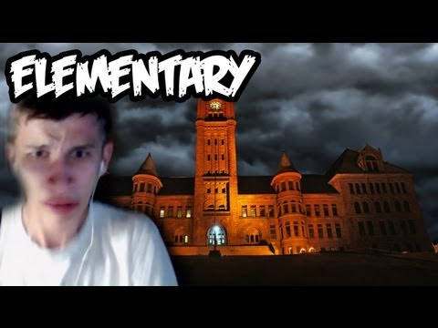 SCARIEST SCHOOL EVER!! - ELEMENTARY (Slender Gameplay - New Map)