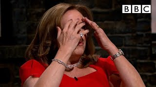 Dragons fight back tears after powerful pitch | Dragons' Den - BBC - BBC
