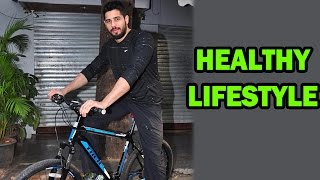 Siddharth Malhotra came cycling to an event to support healthy lifestyle! | Bollywood News