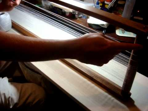 Using An Open/ Box Loom - Part Two: Tying Off The Warp Thread