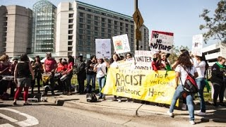 Donald Trump protesters gather outside CA GOP convention - CNN