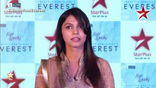 Shamata Anchan talks about her character Anjali Singh Rawat in EVEREST - STARPLUS