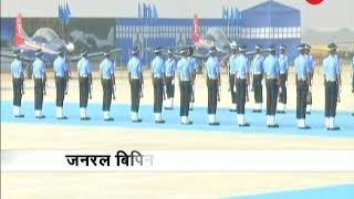 Army chief Bipin Rawat attends Air force combined graduate parade in Hyderabad - ZEENEWS