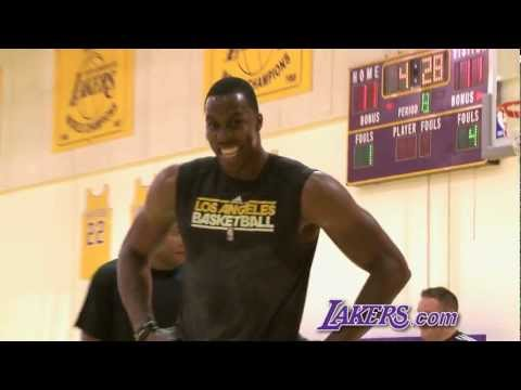 Dwight Howard Workout (9/26/12)