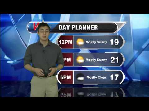 Friday March 6, 2015 Morning Forecast