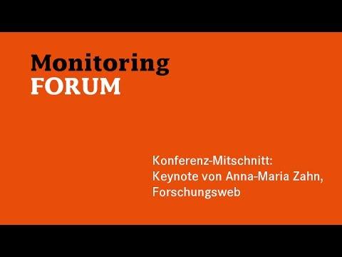 #somofo | Keynote: Anna-Maria Zahn | Social Media Monitoring - wo stehen wir?