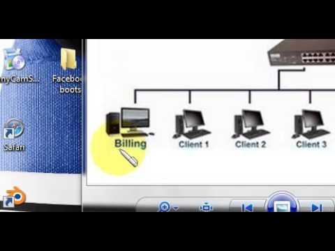 Pemaparan Infrastruktur Jaringan Komputer di Warnet