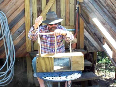 Wooden Homemade Box Trap Part 5