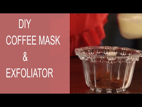 COFFEE FACE MASK For Brightening & Exfoliating | DIY Face Mask For Glowing Skin | StyleCraze