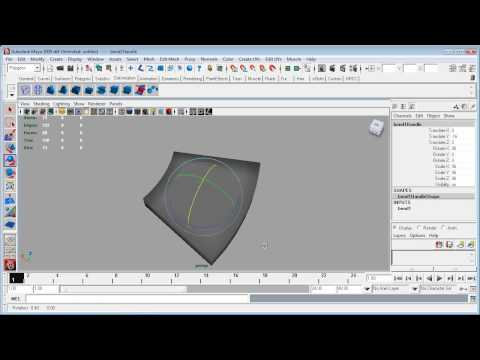 Maya to ZBrush to UDK - Part 3 - Modelling in Maya continued.