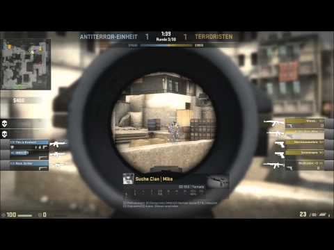 Counter Strike Global Offensive - fcking hacker