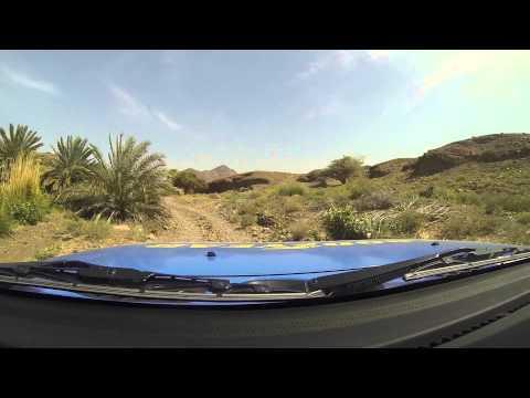 Kris Fade tackles the Hatta terrain on Goodyear Wrangler tires