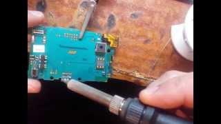 ремонт сотовых телефонов sony ericsson u20i xperia mini замена гнездо зарядки