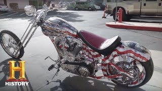 Counting Cars: An All-American Bike (Season 7, Episode 2) | History - HISTORYCHANNEL