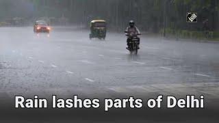video : Delhi के कुछ हिस्सों में Heavy जलजमाव, राहगीर Upset