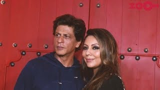 Shah Rukh Khan & Gauri Khan share special moments at Gauri's new restaurant launch - ZOOMDEKHO