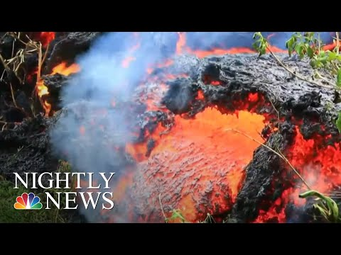 Officials Warn Largest Hawaii Volcano Eruption Is 'Imminent' | NBC Nightly News - يوتيوبات
