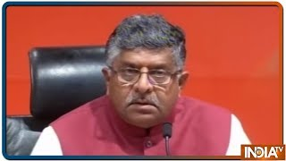 Ravi Shankar Prasad: Congress के DNA में बांटने की राजनीती - INDIATV