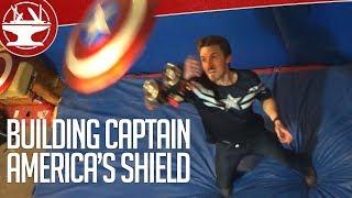 Fan de Capitán América crea propio escudo electromagnético