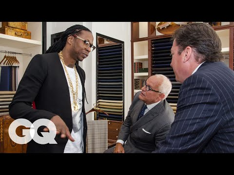 2 Chainz - 2 Chainz Gets A Custom Suit On GQ's