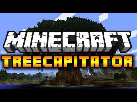 Treecapitator 1.6.2 - Szybkie ścinanie drzew! + Instalacja (Minecraft PL Mody)