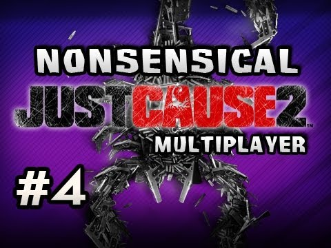 Nonsensical Just Cause 2 Multiplayer w/Nova &amp; Sp00n Ep.4 - THE AIRPORT CLUSTER