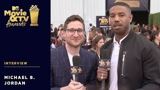 Michael B. Jordan Vying for 'Best Shirtless Performance' Nomination | 2018 MTV Movie + TV Awards - MTV