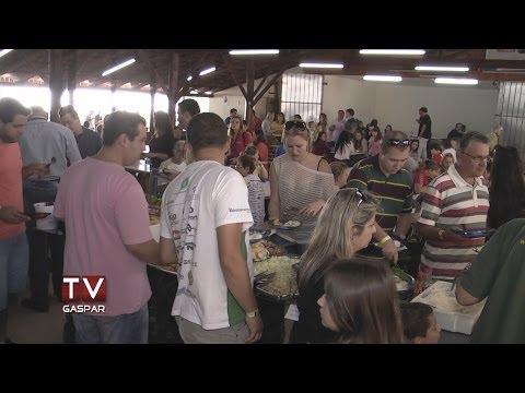 Reportagem da TV Gaspar na Feijoada 2014