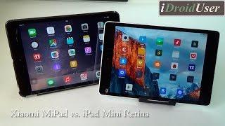 Xiaomi MiPad vs. iPad Mini Retina - большое сравнение конкурентов.