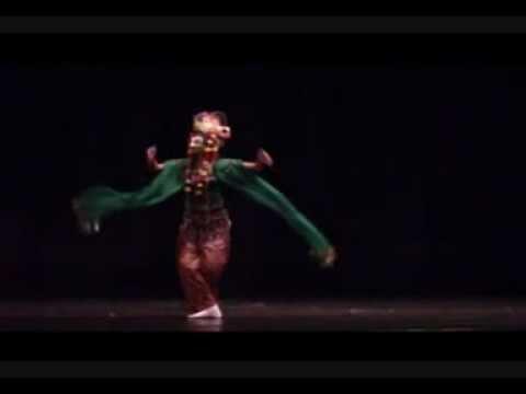 MASK DANCE-TARI TOPENG ARIMBI-MADURA