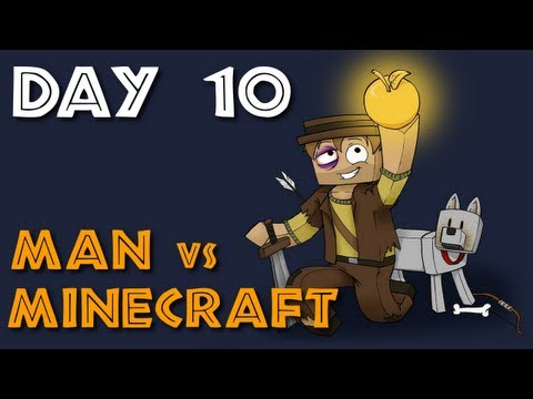 Man vs Minecraft - S5 Day 10