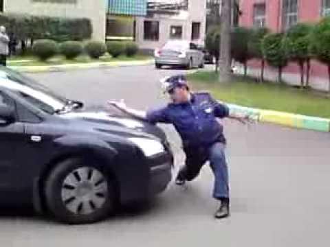 Реакция инспектора ДПС, который прошел аттестацию в полицию!